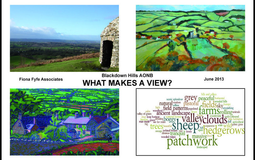 """What Makes a View ?"" The Blackdown Hills AONB</h1><h2 class='entry-subtitle'>With Sological Solutions and Robin Lines Landscape (2013)</h2>"