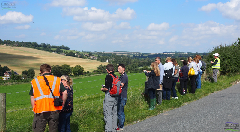 Training in the Methodology and Practical Application of Landscape Character Assessment</h1><h2 class='entry-subtitle'>Delivered through the 'Up on the Downs' Landscape Partnership Scheme, Kent (2014)</h2>