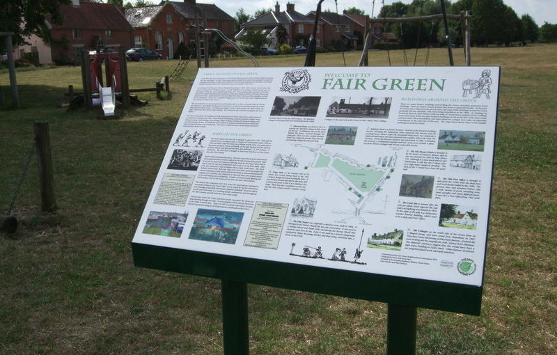 Design of Interpretation Panel for Fair Green, Diss, Norfolk</h1><h2 class='entry-subtitle'>(2014)</h2>