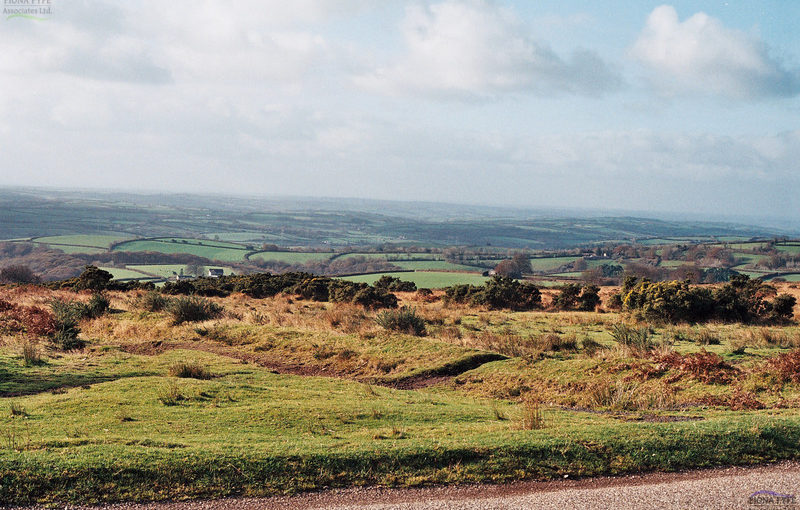 The panoramic views south from Exmoor contribute to setting of the National Park.