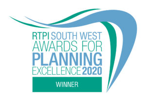 RTPI South West Awards 2020 badge
